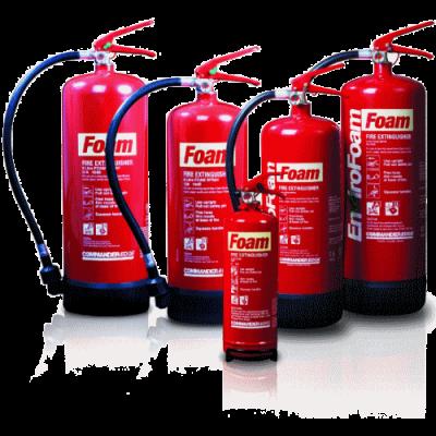 Foam Fire Extinguishers